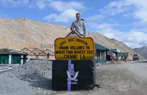 chang la ladakh India
