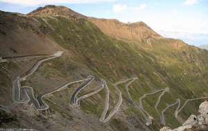 Gata Loops - Curvy roads of Ladakh