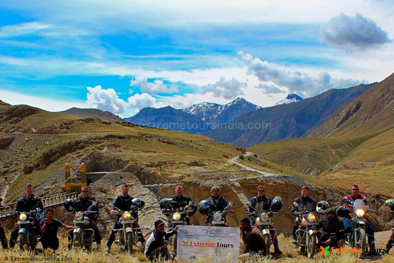 Ladakh motorcycle expedition