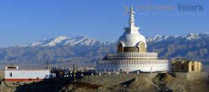 Shanti Stupa leh Ladakh India