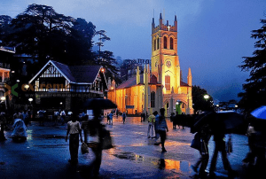 church of the Mall shimla india