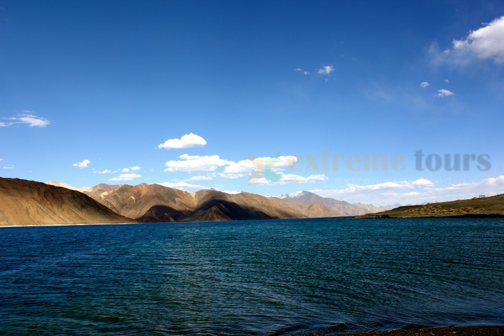 Pangong Lake in Ladakh