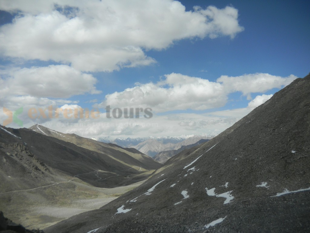 View from Khardung La