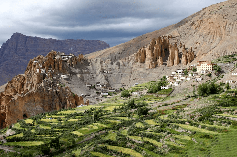 Dhankar Monastery of Spiti valley
