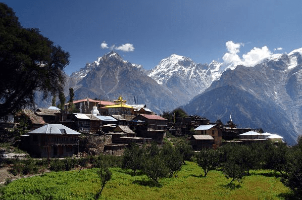 Kalpa, Kinnaur Valley, India