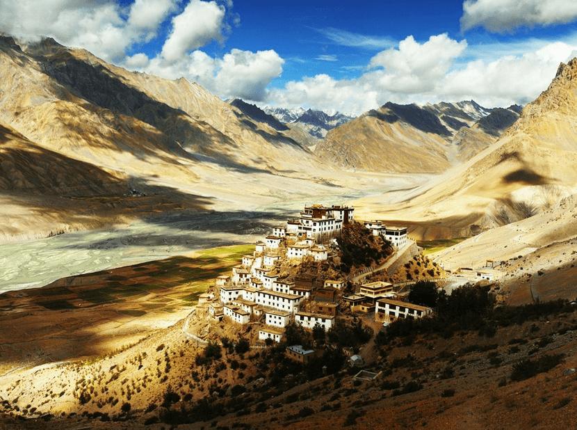 Ki monastery, spiti valley India