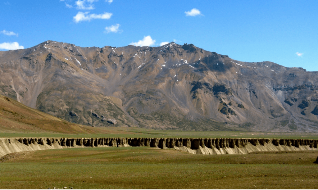 View from tha camp sites at sarchu leh manali highway India