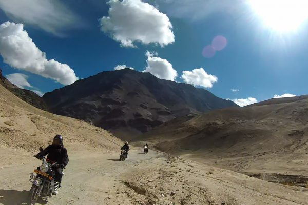 Essential Motorcycle gear for rider in Ladakh
