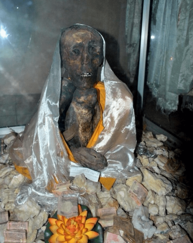 Mummy of a monk