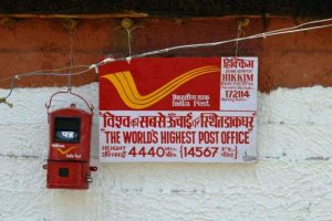 Highest Post Office of the world