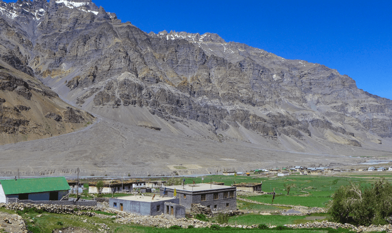 Losar Village Spiti Valley