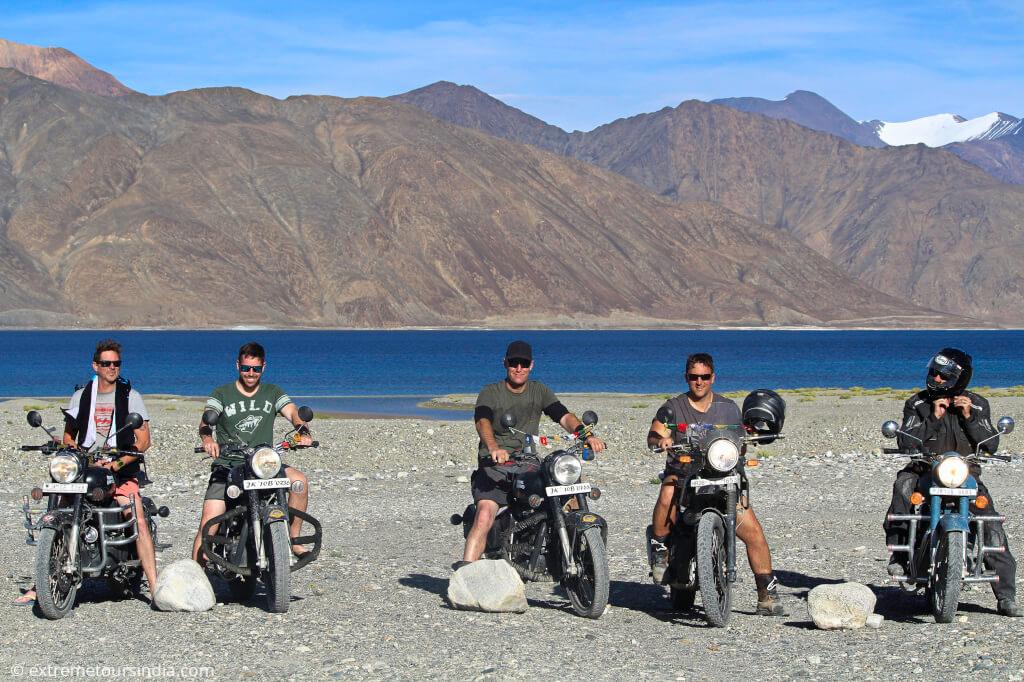 Leh pangong motorcycle trip