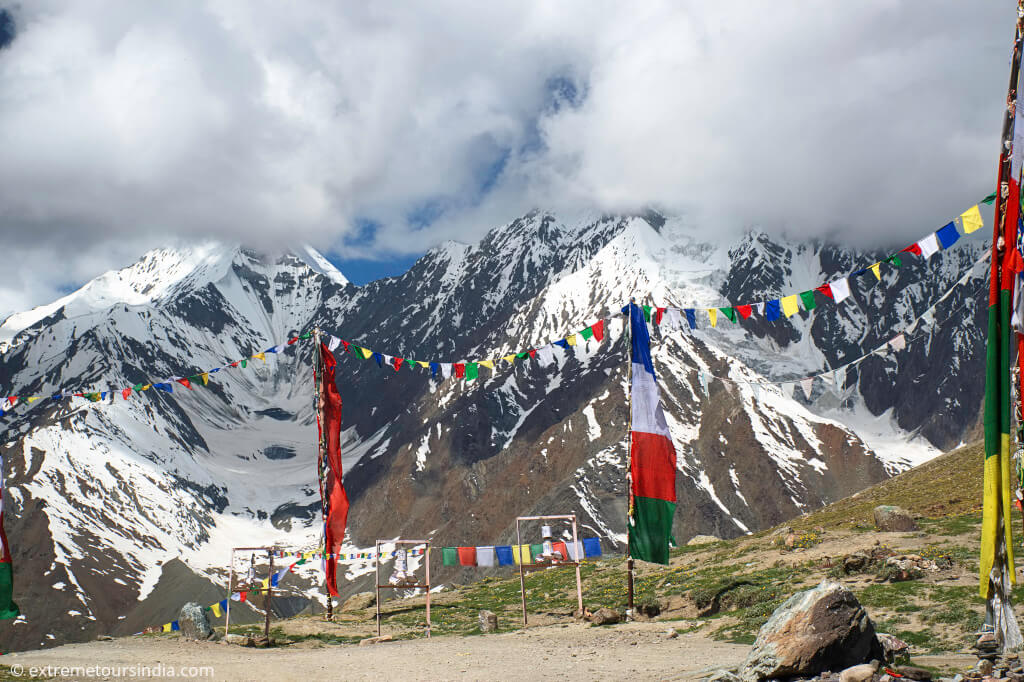 Kunzum Pass in the spiti valley